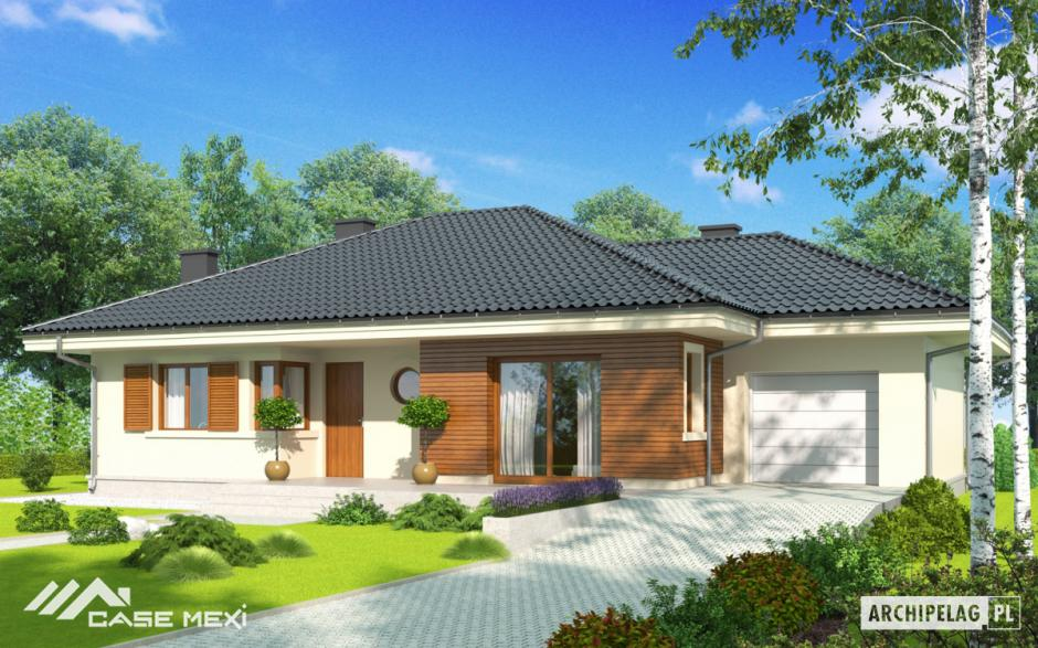 Mexisteel house projects for One level mansions